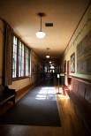 Kennedy School corridor