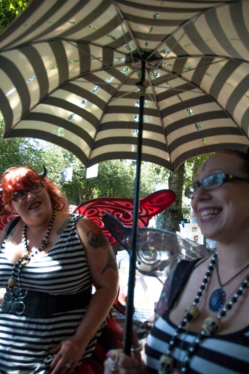 Sami and Her Umbrella