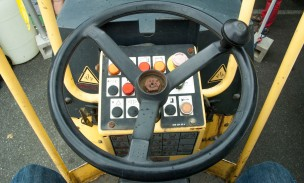 Behind the Wheel, Steamroller