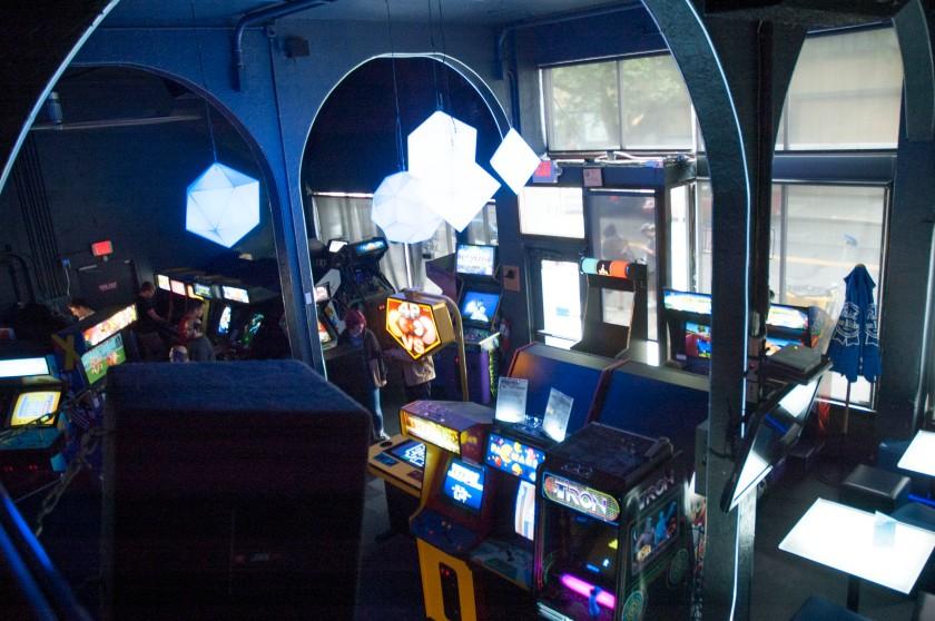 Ground Kontrol arcade