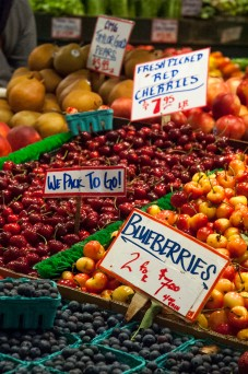 Pike Place Market Cherries