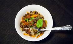 Black Beans & Spiced Rice