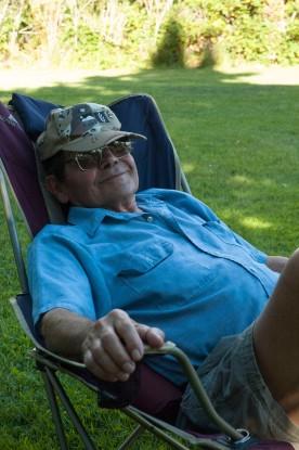 Grandpa Rod at Lyons Ferry