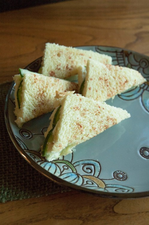 Cucumber Sandwiches https://wraysofsunshine.com/2014/09/22/menu-cucumber-sandwiches/