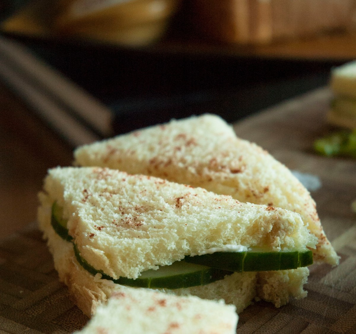 Menu: Cucumber Sandwiches