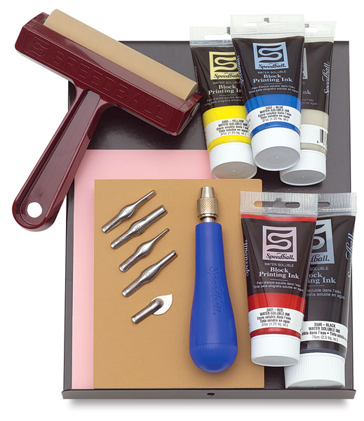 Relief Printing Kit