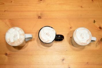Peanut Butter Hot Chocolate w/ Marshmallow Cream