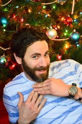 Brandon Under Tree
