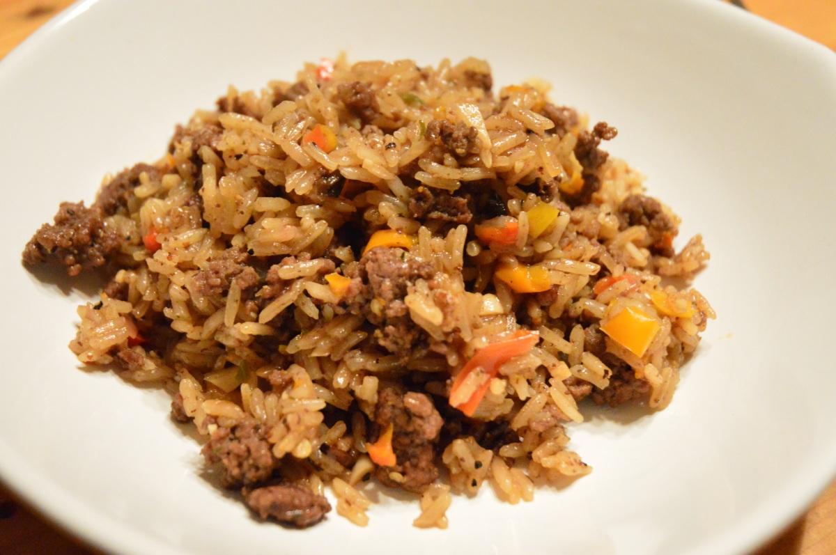 Menu: Dirty Rice