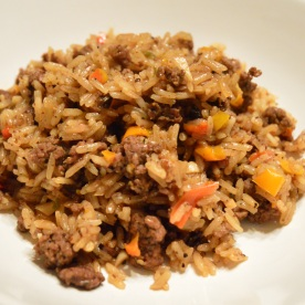 Dirty Rice https://wraysofsunshine.com/2015/02/08/menu-dirty-rice/
