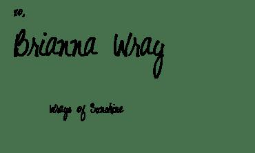 Brianna Wray Signature