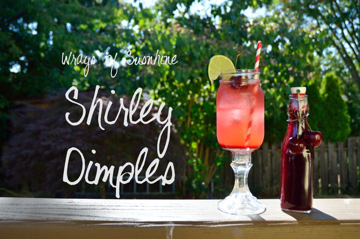 Drink Menu: Shirley Dimple