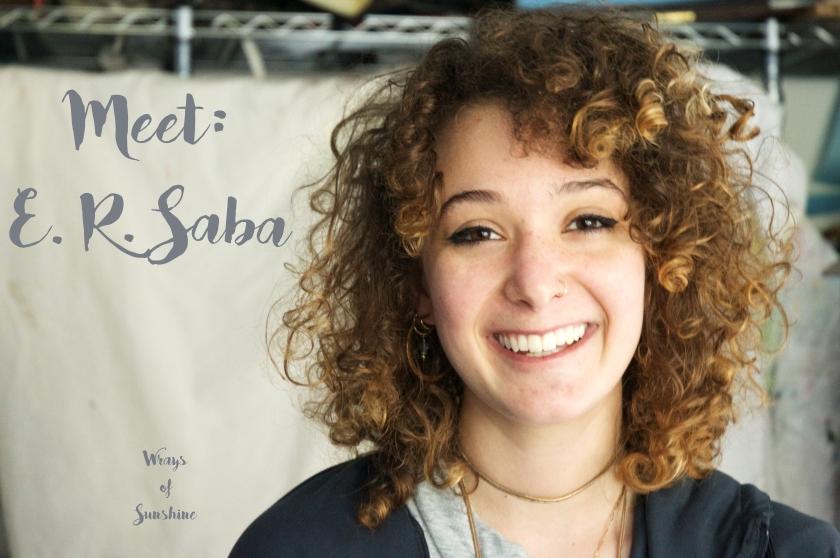 Meet: E.R. Saba