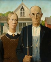 American Gothic_Grant Wood