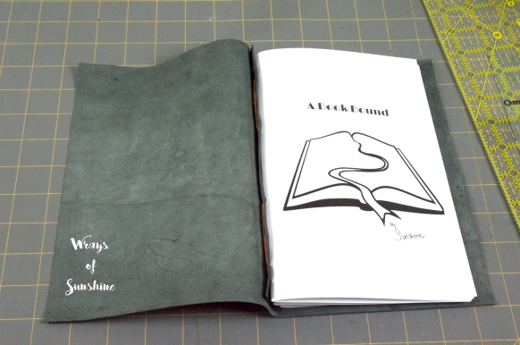 Make: Long Stitch Leather Bound Book https://wraysofsunshine.com/2016/03/28/make-long-stitch-leather-bound-book-dummy/