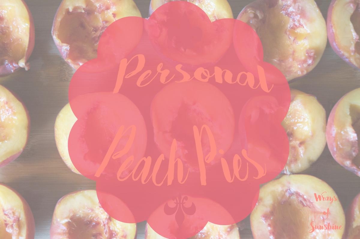 Menu: Personal PeachPies